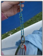 Photo 88, Attach the halyard